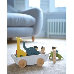"""Jouet en bois """"Le Bateau de l'Amitié"""" (3 ans et +) Tender Leaf Toys"""