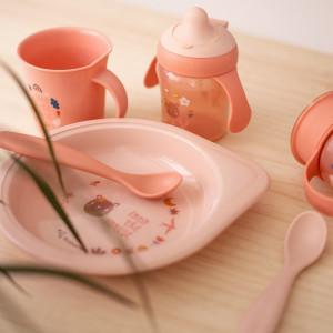 """Cuillères bébé Forest """"Rose"""" (6 mois et +) Suavinex"""