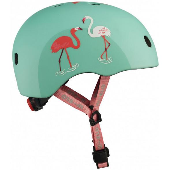 """Casque enfant """"Flamingo"""" avec LED (52/56cm)"""
