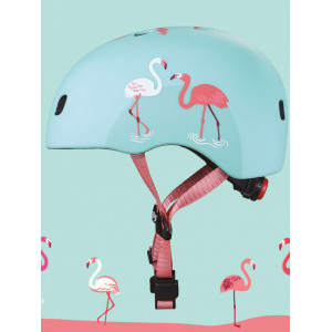 """Casque enfant """"Flamingo"""" (48/53cm) avec lumière LED Micro Mobility"""