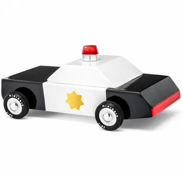 """Voiture en bois """"Police Car"""" (10 cm)"""