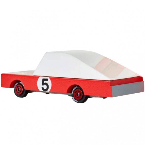 """Voiture en bois """"Red Racer 5"""" (10 cm)"""