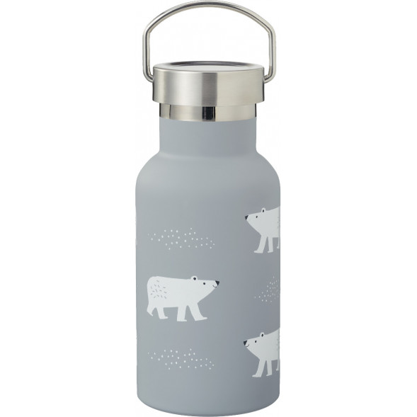 """Gourde en inox isotherme (350 ml) """"Ours Polaire"""""""