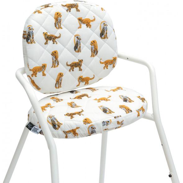 """Coussins pour Chaise Tibu Edition Lucas du Tertre """"Jaguar"""""""
