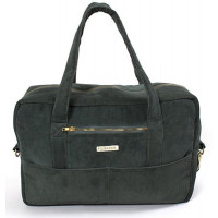 "Sac à langer en velours de coton bio Mommy Bag ""Pine Green"" Filibabba"