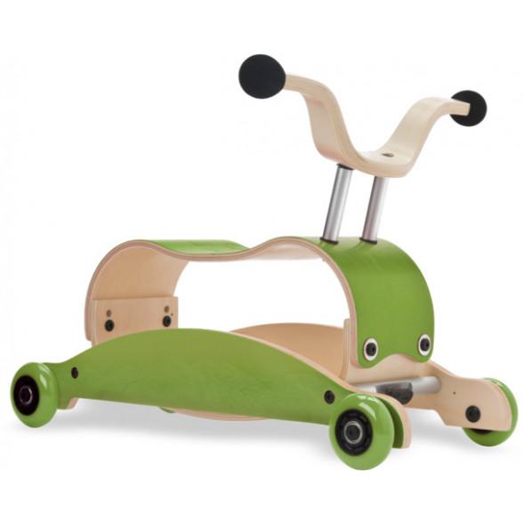 Mini-Flip 3 en 1 en bois Vert/Vert