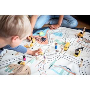 """Sac à jouets /Tapis de jeu """"Circuit Los Angeles"""" Play & Go"""