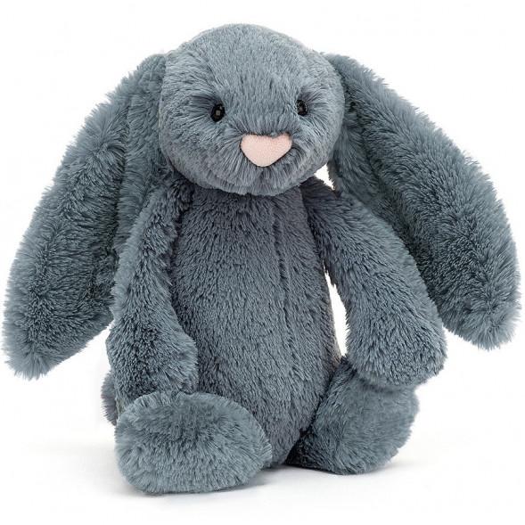 """Peluche Bashful Lapin """"Bleu Crépuscule"""" (31 cm)"""