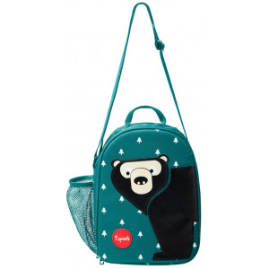 "Lunch Bag enfant isotherme ""Ours"" 3 Sprouts"