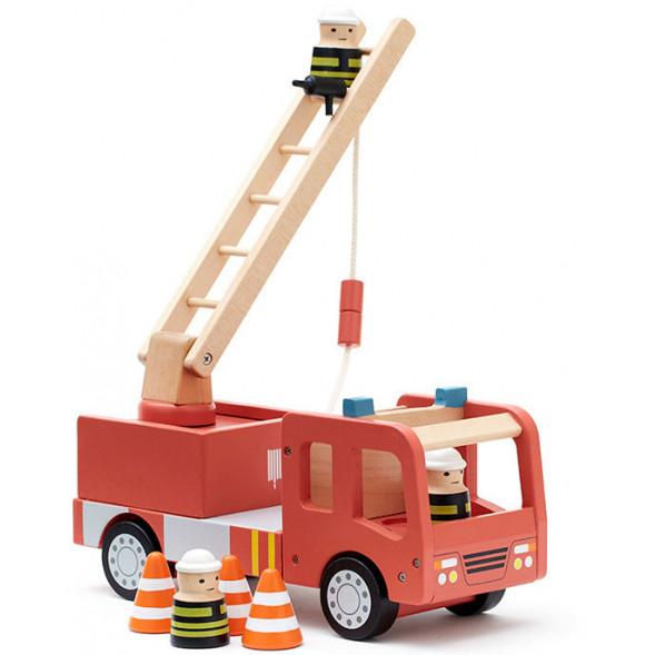 Camion de Pompiers en bois Aiden (3 ans et +)