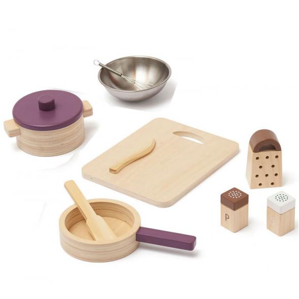 Set de Cuisine Bistro en bois (2 ans et +)