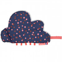 "Doudou plat attache-sucette Nuage ""Katy"" Mellipou"