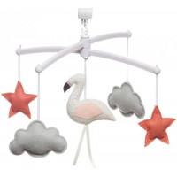 "Mobile musical Flamant Rose ""Confetti"""
