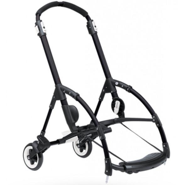 Châssis noir pour poussette Bugaboo Bee3 (avec roues arrière)