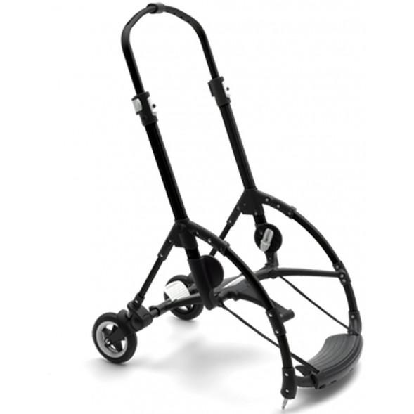 Châssis noir pour poussette Bugaboo Bee5 (avec roues arrière)