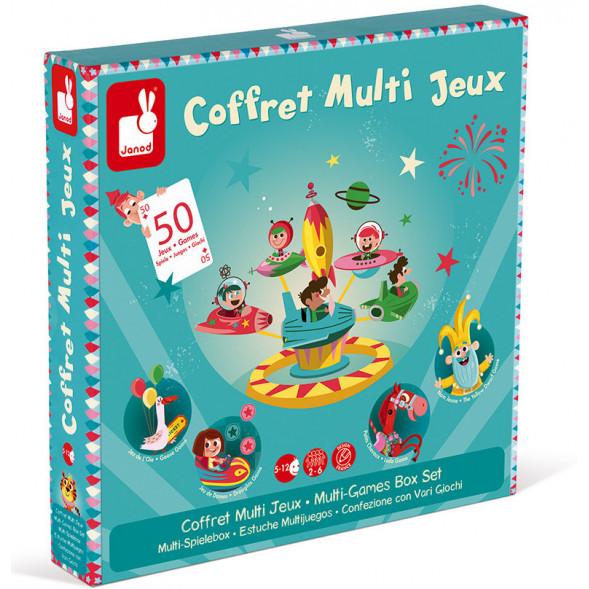 """Coffret Multi-Jeux """"Carrousel"""" (5-12 ans)"""
