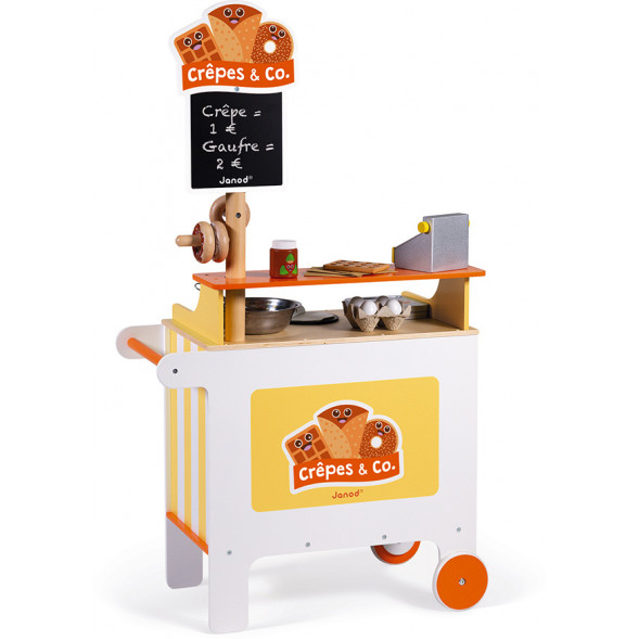 "Stand mobile en bois ""Crêpes & Co"" (3-8 ans)"