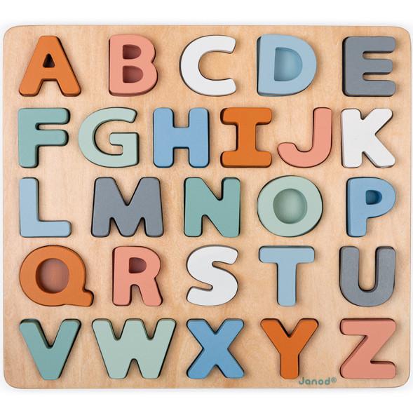 """Puzzle en bois Alphabet """"Sweet Cocoon"""" (2-6 ans)"""