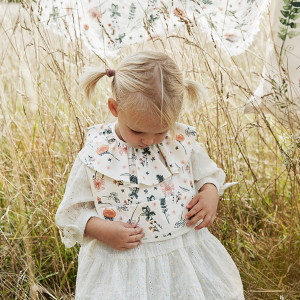 """Bavoir à poche imperméable """"Meadow Blossom"""" (3-18 mois) Elodie Details"""