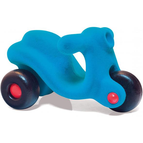 """Scooter en caoutchouc naturel """"Bleu"""" (20 cm)"""