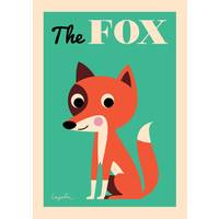 Affiche the fox - omm design -