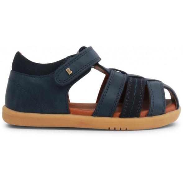 "Sandales I Walk en cuir Global Roamer ""Bleu Marine"""