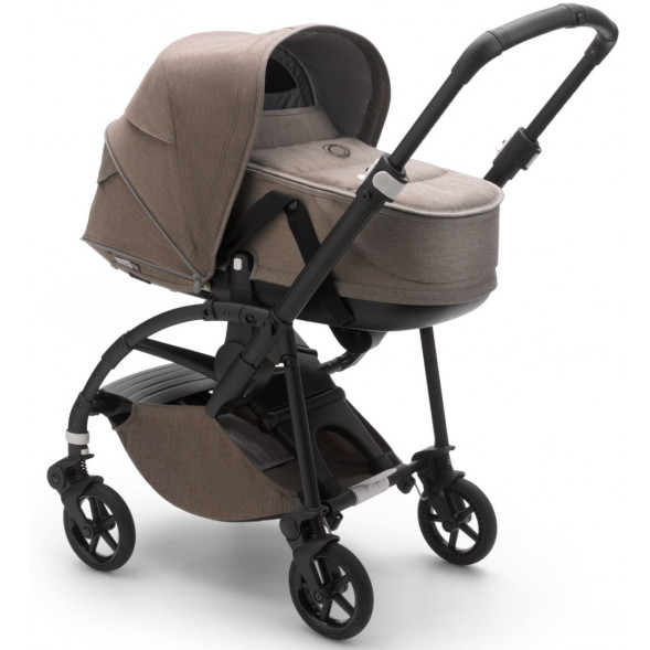 """Poussette Bugaboo Bee6 + nacelle Collection Mineral """"Taupe"""""""