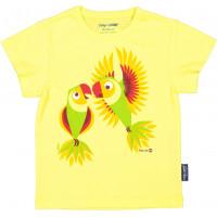"""T-shirt enfant manches courtes en coton bio """"Mibo Perruche"""" Coq en Pâte"""