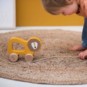 """Jouet en bois à tirer """"Mr Lion"""" (1-3 ans)"""