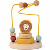 """Jouet en bois bébé Labyrinthe de perles """"Mr Lion"""" (1 an et +) Trixie Baby"""