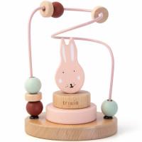 """Jouet en bois bébé Labyrinthe de perles """"Mrs Lapin"""" (1 an et +) Trixie Baby"""