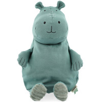 "Peluche en coton bio ""Mr Hippo"" (38 cm)"