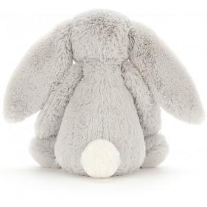 Peluche lapin Bashful Silver Bunny Jellycat