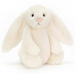 Peluche lapin Bashful crème bunny jellycat