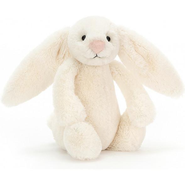 Peluche lapin Bashful Bunny crème Jellycat