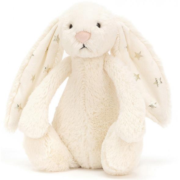 Petite peluche lapin Bashful bunny twinkle  jellycat