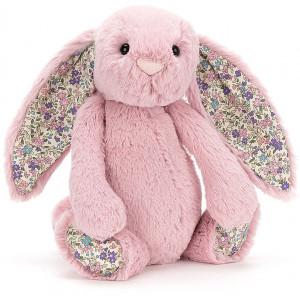 "Peluche Bashful Lapin ""Rose Tulipe Blossom"" Jellycat"