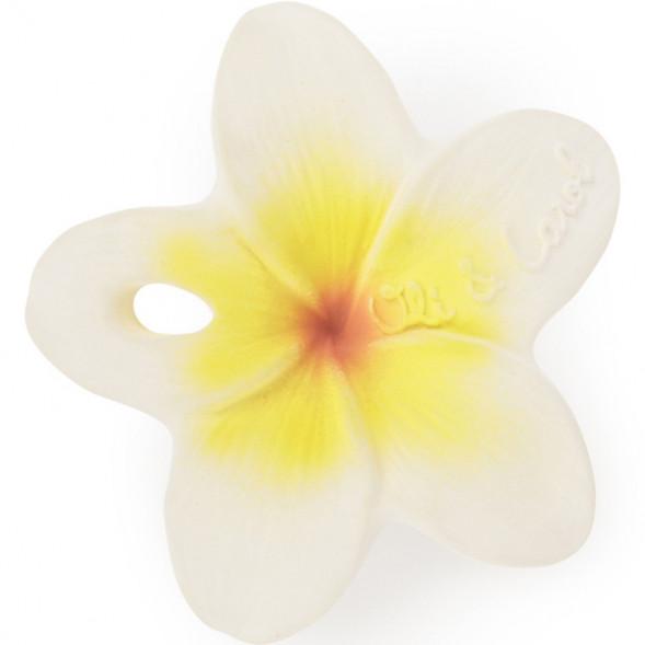 """Jouet de dentition en hevea Chewy to-Go """"Hawaii la Fleur"""""""