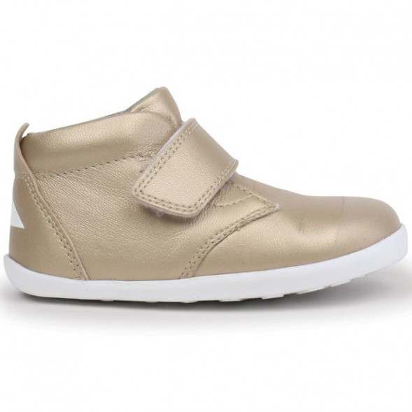 """Chaussures en cuir Step-up """"Ziggy"""" Gold OUTLET"""