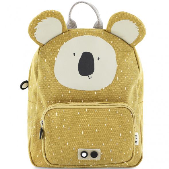 """Sac à dos enfant A4 en coton hydrofuge """"Mr Koala"""" (31 cm)"""