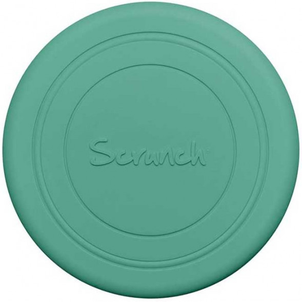 "Frisbee en silicone recycable ""Menthe"""