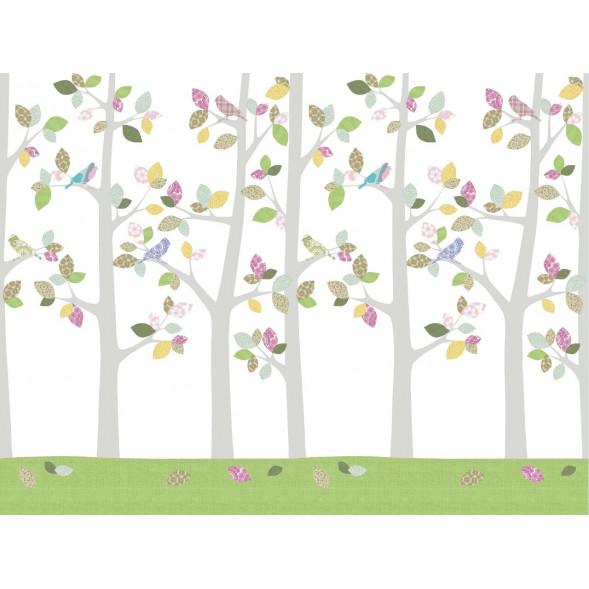 """Papier peint """"Forêt en Mai"""" (400x300)"""