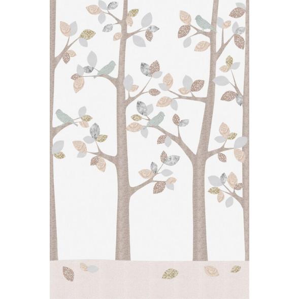 """Papier peint """"Forêt en Février"""" (200x280)"""