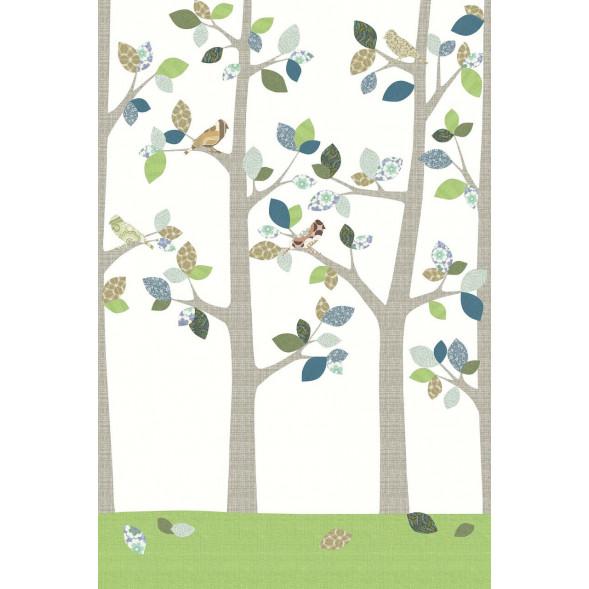 """Papier peint """"Forêt en Juin"""" (200x300)"""