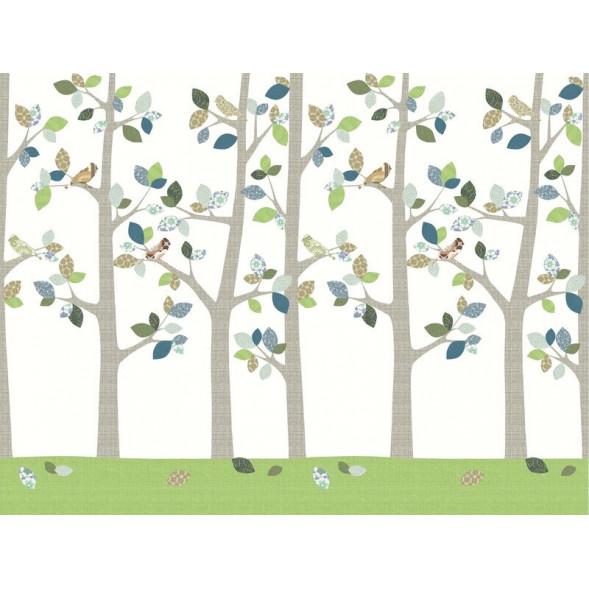 """Papier peint """"Forêt en Juin"""" (400x300)"""