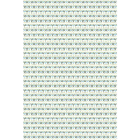 """Papier peint """"Tulipes Bleues"""" (200x300)"""