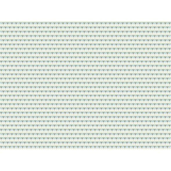 """Papier peint """"Tulipes Bleues"""" (400x300)"""