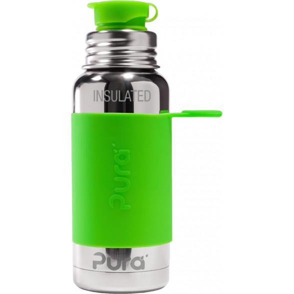 "Gourde en inox Thermos (475 ml) Sport ""Vert"""