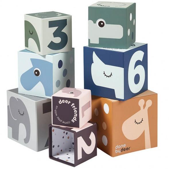 """Cubes à empiler """"Deer Friends"""" (1 an et +)"""