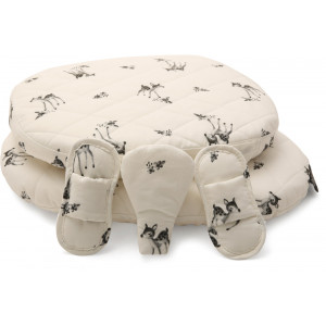 """Coussins pour Chaise Tibu Edition Rose in April """"Fawn"""" Charlie Crane"""